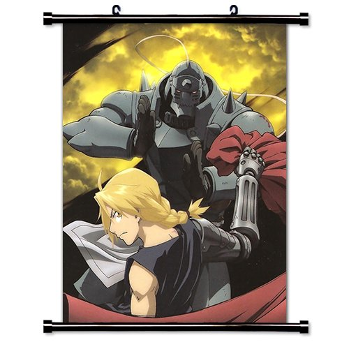 Full Metal Alchemist Anime Fabric Wall Scroll Poster (16