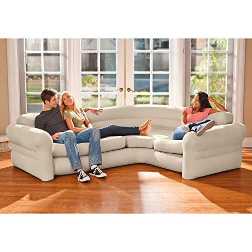 Intex Inflatable Corner Sofa, 101 X 80 X 30