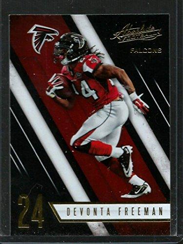 2016 Panini Absolute  62 Devonta Freeman Atlanta Falcons Football Card
