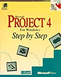 img - for Microsoft Project 4 for Windows Step by Step book / textbook / text book