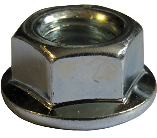 Bolt Base A2 Stainless Steel Hex Serrated Flange Nuts Flanged Nuts M12 X 1.75mm Pitch 100