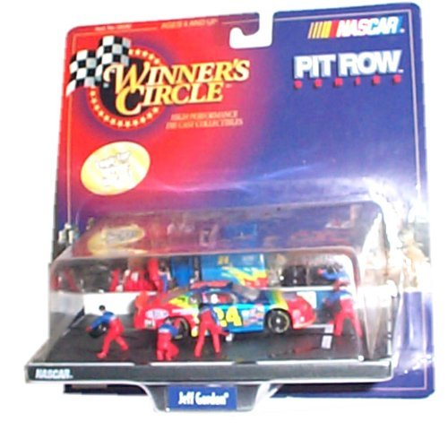 (Winner's Circle - NASCAR - Pit Row Series - Jeff Gordon/DuPont #24 Pit Row/Pit Stop Diorama w/interconnecting base and accessories)