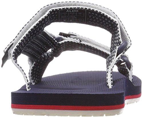 ALDO Herren Aawiel Pantoffeln Blau (Insignia Blue 2 (Stripe))