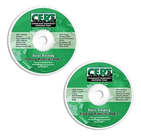 Amazon com : CERT Basic Training DVD Videos : Everything Else