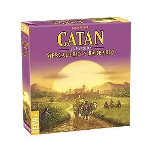 Catan Devir Expansión Mercaderes y Bárbaros, juego de mesa