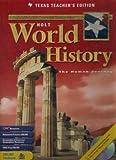 World History, Holt, Rinehart and Winston Staff, 0030657598