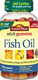 Nature Made Fish Oil Adult Gummies Nutritional Supplements, Value Size, 150 Count