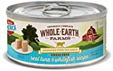 Whole Earth Farms Grain Free Receipe, 5 oz, Tuna & Whitefiesh, 24 Count