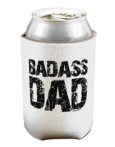 TooLoud Badass Dad Can/Bottle Insulator Cooler - 2 Pack