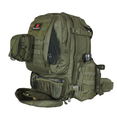 Fox Outdoor Products Advanced 3-Day Combat Pack, Olive (Combat Web Pack)