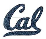 Officially Licensed UC Berkeley Large Rhinestone Cal Logo Brooch Pin (Navy Blue)