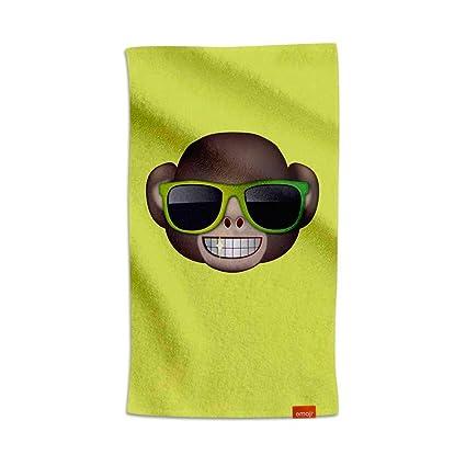 Emoji® Toalla Mono con Gafas (80x160cm)