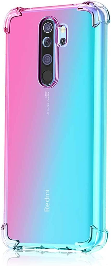 Leychan For Xiaomi Redmi Note 8 Pro Case Shockproof Tpu Bumper Case Double Color Soft Rubber Anti Drop Protective Case Cover Fit For Xiaomi Redmi Note 8 Pro Phone Buy Online At Best Price
