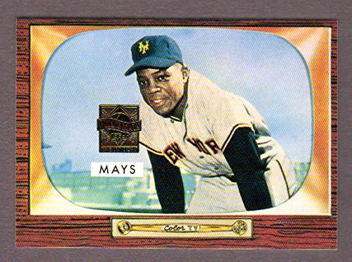 Willie Mays 1955 Bowman Archives Reprint Card w/ Original Back**(From 1996 Topps Mays Commemorative Set) (Giants
