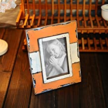 Vintage simple decorative photo frame Table solid wood photo frame A 10.2x15.3cm(4x6inch)