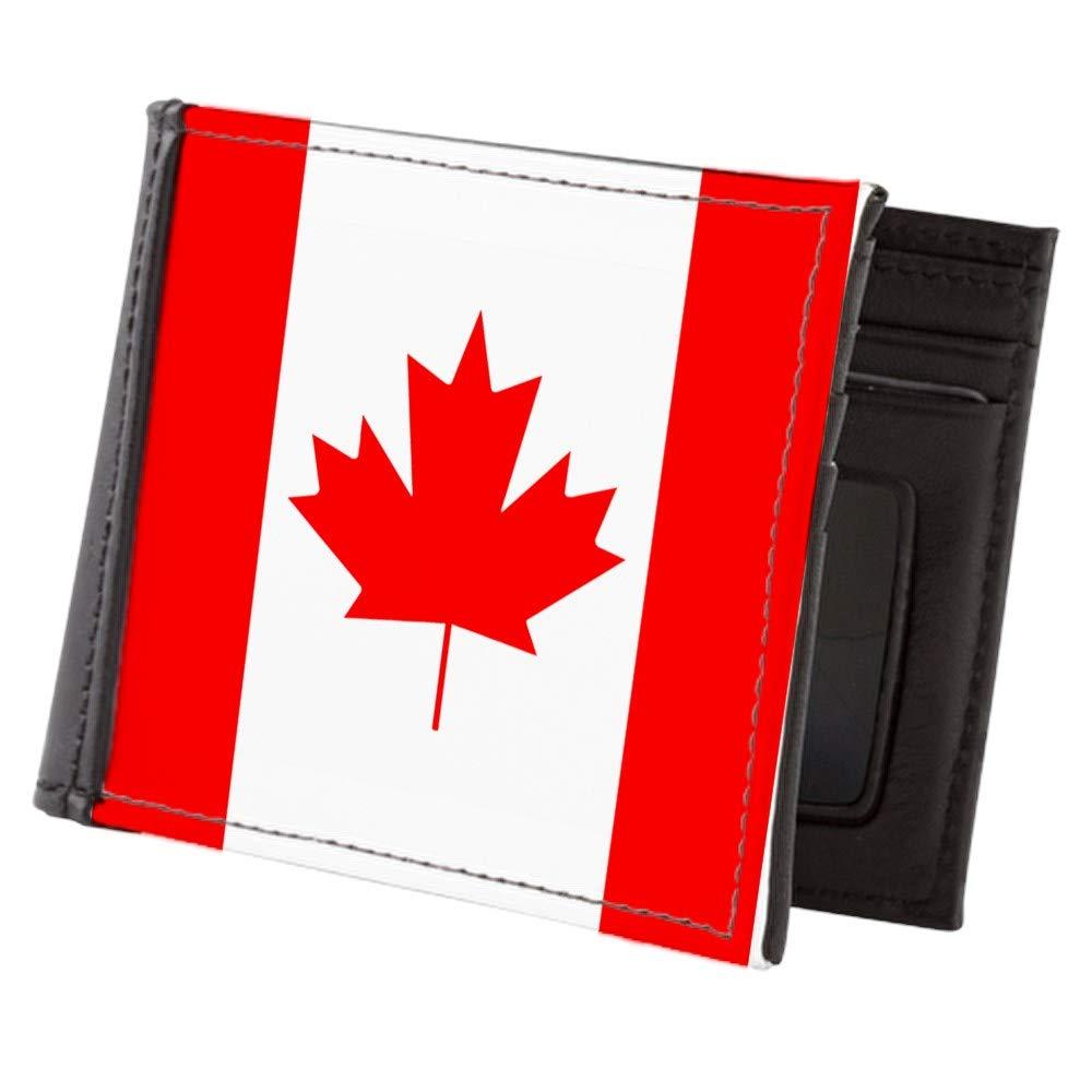 Royal Lion Mens Wallet Billfold Canadian Canada Flag HD
