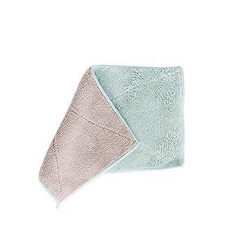 AchidistviQ - Toalla de Mano de Limpieza Absorbente de Dos Colores para Cocina, baño: Amazon.es: Hogar