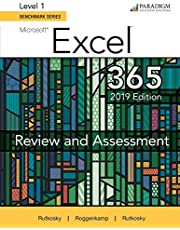 Benchmark Series: Microsoft Excel 2019 Level 1: Review and Assessments Workbook