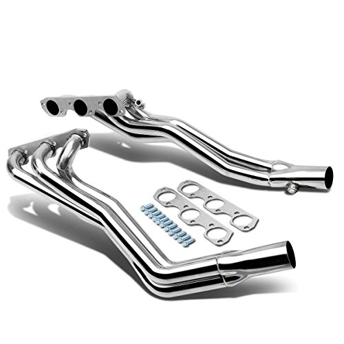 2000 Ford Mustang Headers - DNA motoring HDS-FM94-38L Stainless Steel Exhaust Header Manifold
