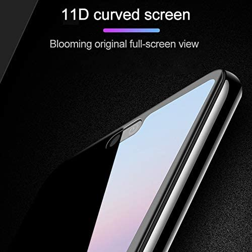 ALICEWU WJH 25 PCS Scratchproof 11D HD Full Glue Full Curved Screen Tempered Glass Film for Huawei Honor View 20 Black nova 4 Color : Black