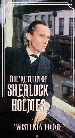 Sherlock Holmes  Wisteria Lodge  Vhs