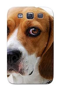 Crazinesswith New Arrival SczBktW12055CZYkv Premium Galaxy S3 Case(beagle) BY icecream design