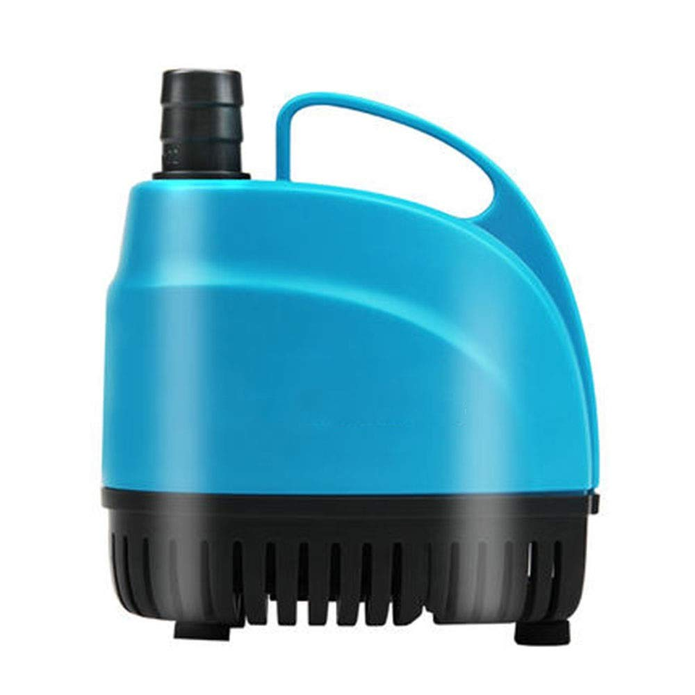 LIFUREN Fish Tank Oxygen Pump Bottom Suction Pump Small Pump Circulation Pump Aquarium Pump Silent Bottom Suction Submersible Pump Durable (Color : Blue, Size : 15W)