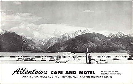 Amazon com: Allentown Cafe and Motel Ronan, Montana Original Vintage