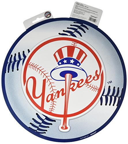 amscan New York Yankees Major League Baseball Collection Cutout, Party Decoration, 6 Ct. ()