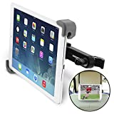 """Image of Okra Universal 360° Degree Rotating Tablet Car Headrest Grip Mount for iPad, Galaxy, & all Tablets up to 11"""" (New 2015 Version) [Retail Packaging]"""
