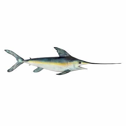 Amazon Com Design Toscano Swordfish Wall Mount Trophy Sculpture