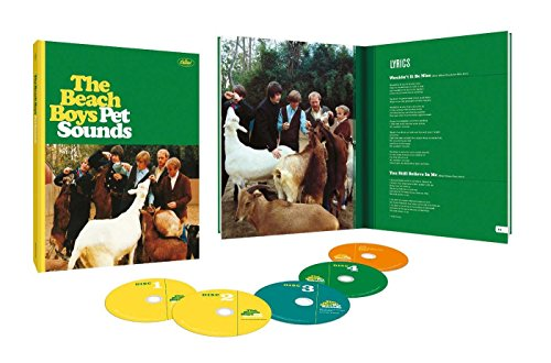 Price comparison product image Pet Sounds (50th Anniversary Deluxe Edition) [4 CD / Blu-ray Audio]