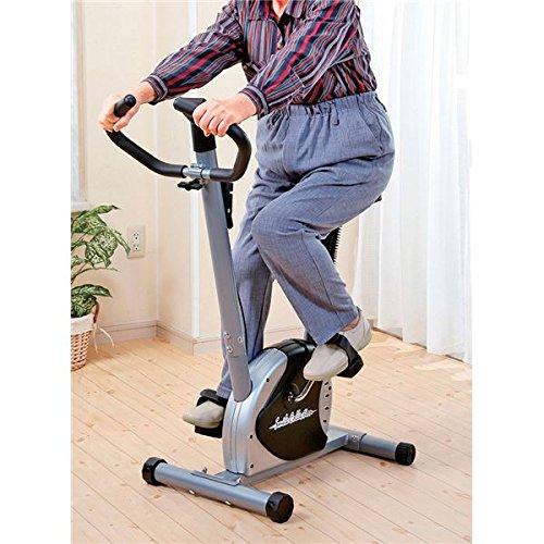 軽量エアロバイク/フィットネスバイク 【幅87cm】 サドル6段階調節 負荷調節ダイヤル 時間 速度 距離 消費カロリー表示パネル付【代引不可】 ダイエット 健康 ダイエット器具 エアロバイク 14067381 [並行輸入品] B07GTWP5Z2