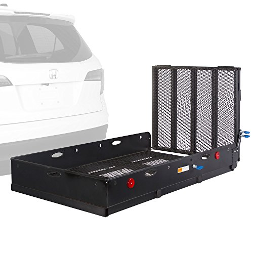 Apex UC500-XL Steel Basket Folding Cargo Carrier