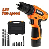 KSEIBI KSR-18.1 E-Li Cordless Drill Screwdriver Multi-function 12V Battery Screwdriver Electric Screwdriver rechargeable LED Screwdriver Power Too Setl