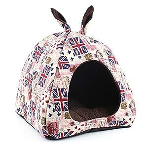 Amazon.com : KOMIA Cute Cave Igloo for Small Dog Indoor