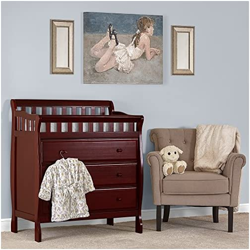 Dream On Me, Marcus Changing Table and Dresser, Black