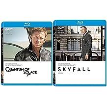 Skyfall Blu Ray & Quantum of Solace 2 Pack James Bond 007 Daniel Craig Set