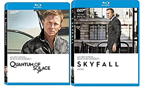 Amazoncom Skyfall Blu Ray Quantum Of Solace 2 Pack James