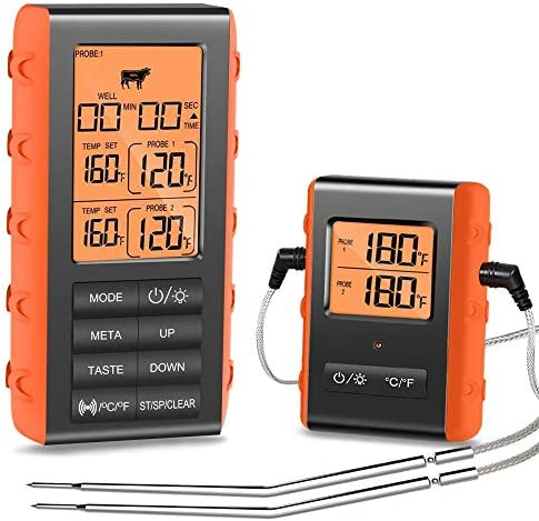Wireless Thermometer Digital Stainless Grilling