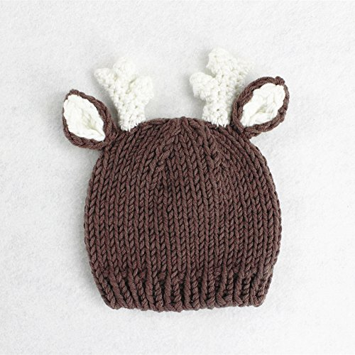 Newborn Baby Photography Prop: Crochet knitted hat and pants set 2