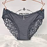 Ms. summer underwear lace low-rise triangular trousers Ms. Non-marking underwear