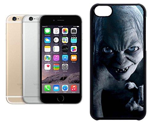 Cas de l'iPhone 6. Plastique noir avec High Gloss Imprime Inserer - Lord Of The Rings Gollum