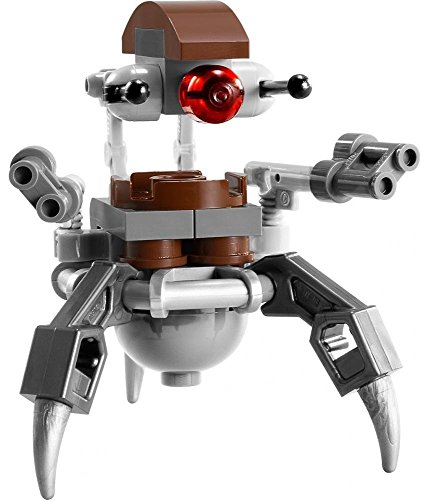Lego Star Wars Destroyer Droid - Lego Star Wars Droideka Destroyer Droid Minifigure (2013) (Ships Unassembled)
