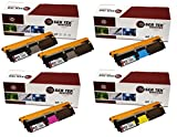 Laser Tek Services Compatible Phaser 6115 / 6120 Toner Cartridge Replacements for the Xerox 113R00692, 113R00693, 113R00695, 113R00694 (2 Black, Cyan, Magenta, Yellow, 5-Pack)