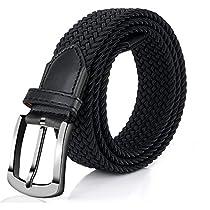 Elastic Braided Belt, Fairwin Enduring Stretch Woven Belt