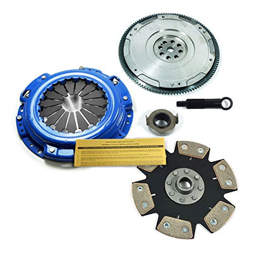 EFT STAGE 4 PERFORMANCE CLUTCH KIT+ HD FLYWHEEL HONDA ACCORD PRELUDE 2.2L 2.3L -