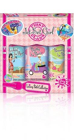 Jet Set Girl Luxury Bath Collection (Girls Bath For Sets)