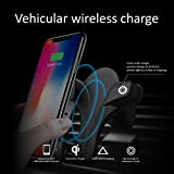 10W Wireless Car Charger, Ameter QI Wireless Car Mount, B70 Air Vent Phone Hold, Quick Charge for Samsung Galaxy S9, S9 Plus, S8, S8 Plus, Note 8 etc. Standard Charge for iPhone X, iPhone8, iPhone 8 P
