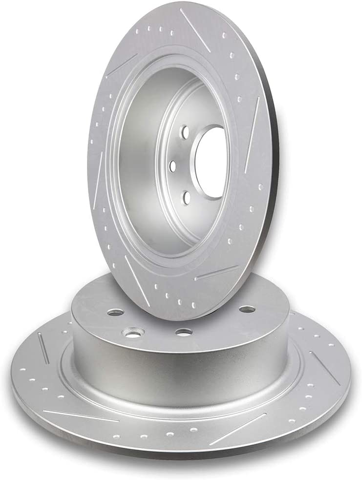 Rotors Metallic Pads F+R 2004 Fits Nissan Maxima OE Replacement
